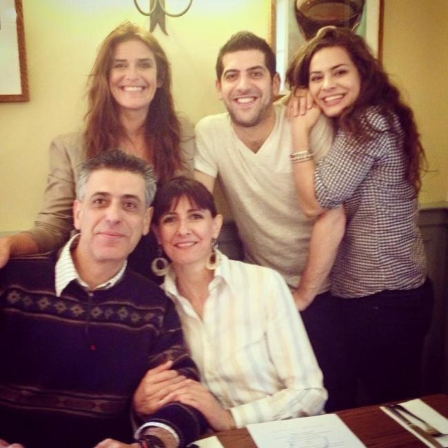 Gianni with his family.