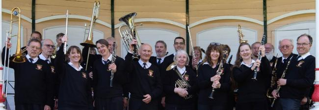 The Malmesbury Concert Band (MCB) will be entertaining passers-by and shoppers