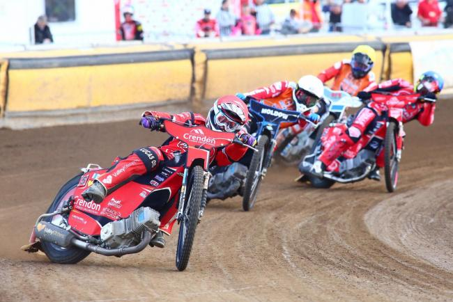 The Robins were defeated 50-40 when they last visited the Showground in June - Peterborough haven't won a meeting since
