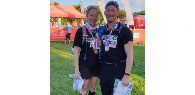 Chrissie and Mat Crossman take on ultra challenge