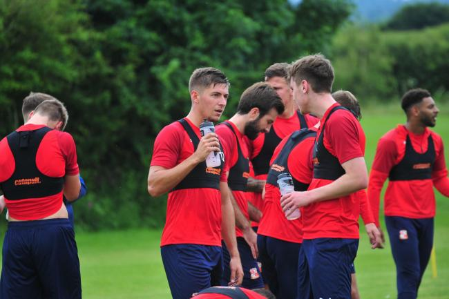 Swindon Town pre-season training. PHOTO: Shaun Reynolds Photography.