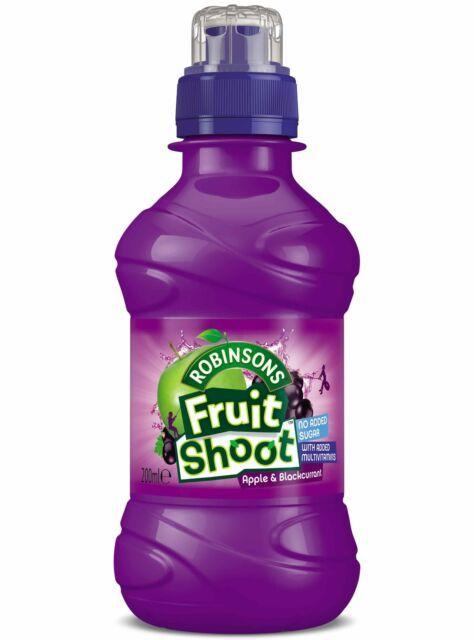The Food Standards agency has issued an urgent recall notice for Robinson's Fruit Shoot Apple and Blackcurrant