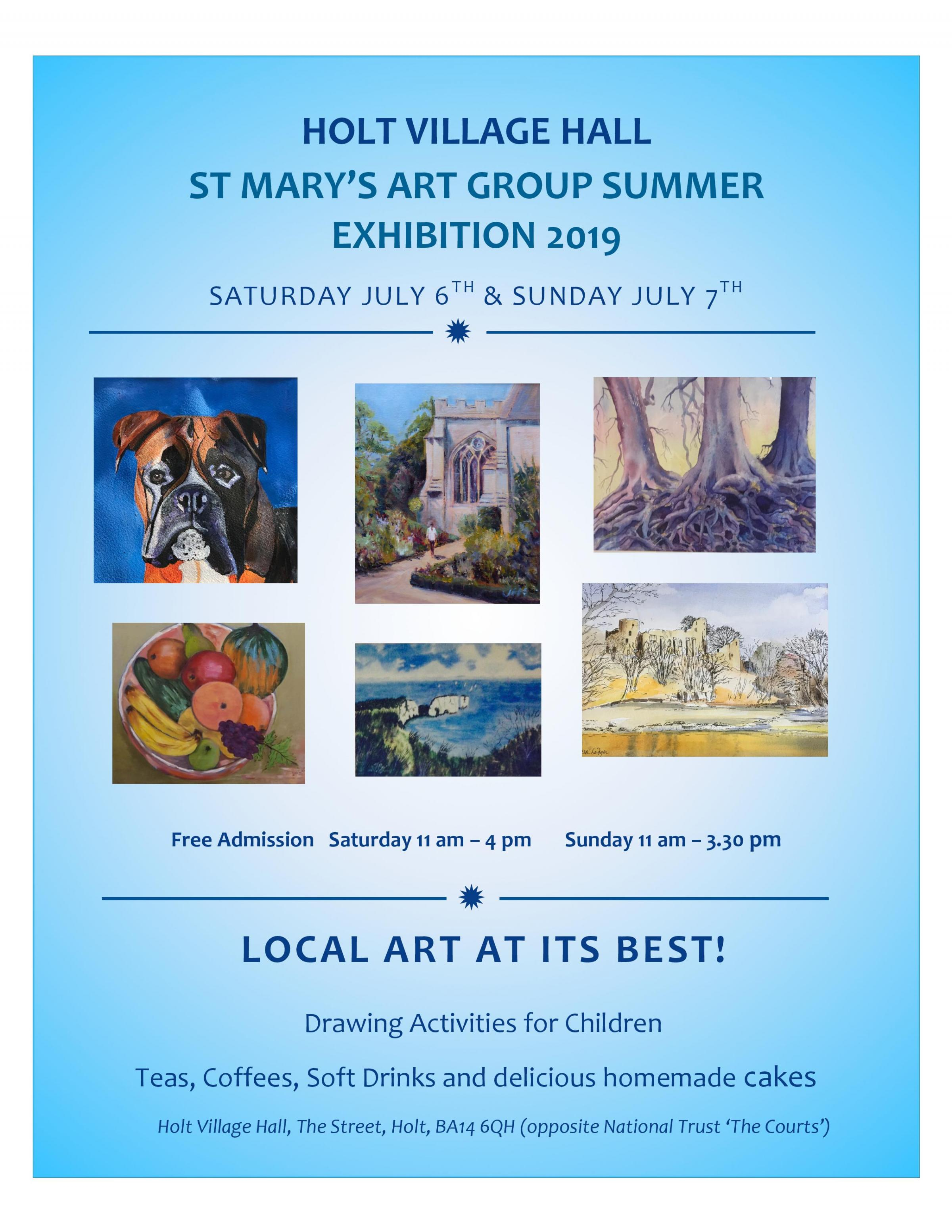 St Mary's Art Group Summer Show