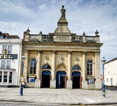 Devizes Corn Exchange - the venue for the WCO concert on Saturday