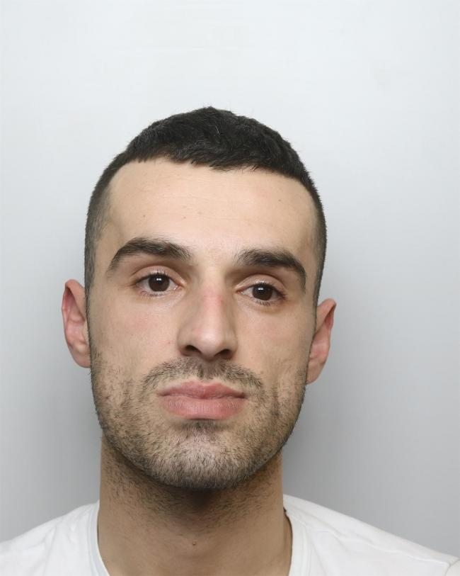 Santiljano Dalti has been sent to prison for 56 months for drugs and weapons offences