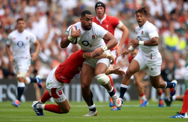 England's Joe Cokanasiga in action during the International match at Twickenham Stadium, London. PRESS ASSOCIATION Photo. Picture date: Sunday August 11, 2019. See PA story RUGBYU England. Photo credit should read: Adam Davy/PA Wire. RESTRICTIONS: E