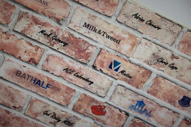Mintivo's new brick has been installed at Springboard