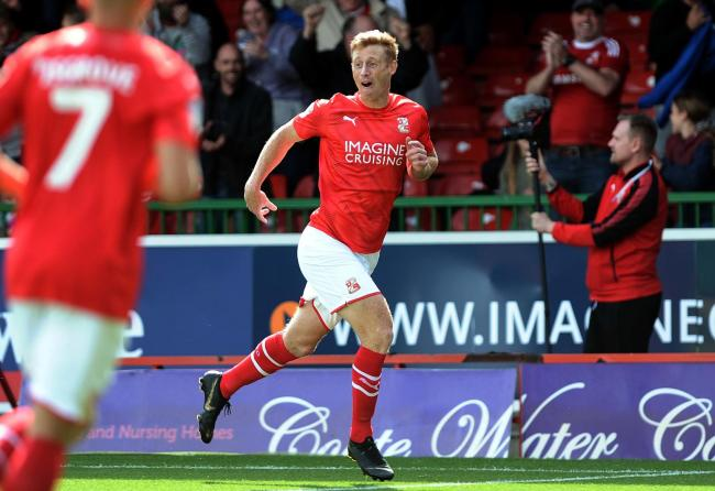 On-loan striker Eoin Doyle is Swindon Town's top scorer this season with five goals