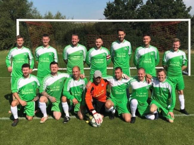 The Foresters Arms claimed a 4-1 win over New Inn Wacker in Division One of the Chippenham & District Sunday League at the weekend