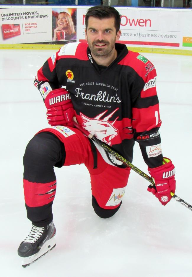 Swindon Wildcats player-coach Aaron Nell. 							    PHOTO: Kat Medcroft.