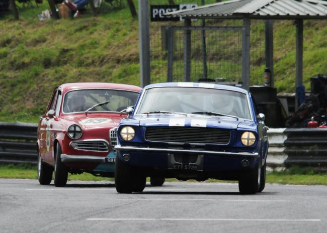 An unconnected race at Castle Combe circuit in 2016 PHOTO: Trevor Porter