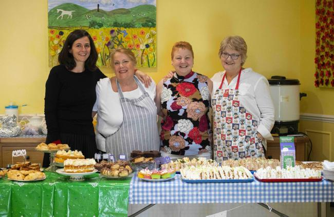 Staff at the Goatacre Manor Care Centre open day