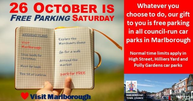 Free parking in Marlborough