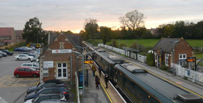 Pewsey to London train price hike. 2