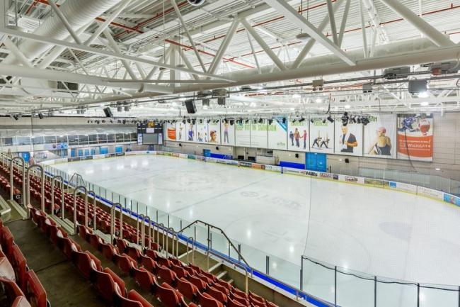 Link Centre ice rink
