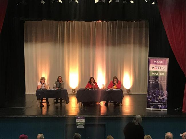 Make Votes Matter hosted a hustings on Monday night