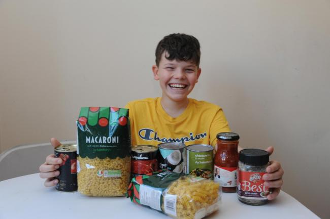 Thomas Sutterby, 11, sold his iPad to buy food for the homeless