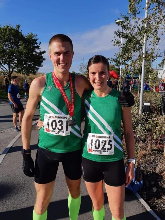 Athlete Denise Nott from Calne Running Club won the Swindon 10k and got her personal best in the Gloucester 10k in November. Her husband Simon Nott had his fifth successive victory at the Wiltshire Cross Country Championships