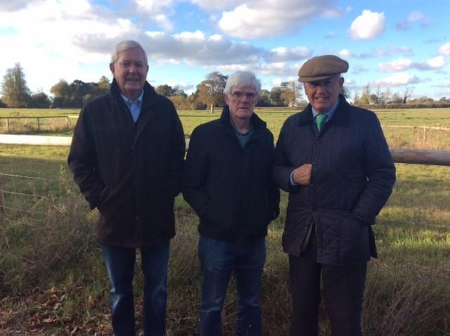 David Taylor, Tony Clark and Guy Hungerford. of the Pickwick Association, which has campaigned against the proposed housing development