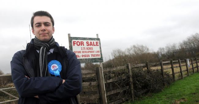 Antonio Piazza, the new Conservative councillor for Drynham Ward, also objects to the Elm Grove access proposals Photo: Siobhan Boyle SMB2882/2