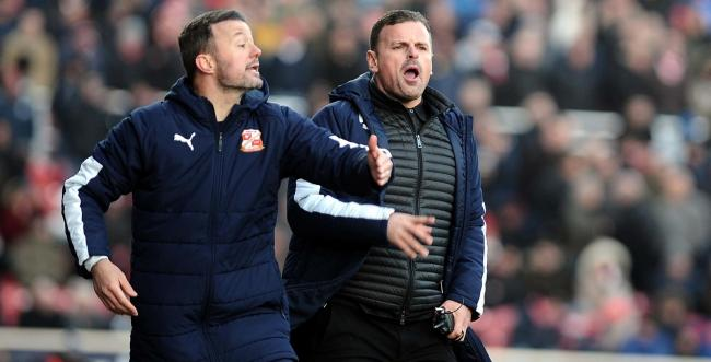 Manager Richie Wellens has led Swindon Town from 17th in League Two to the top of the table during his 15-month tenure as manager	Picture: Dave Evans