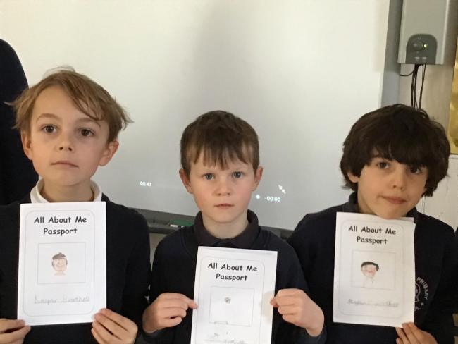 Preshute pupils learn about passport control