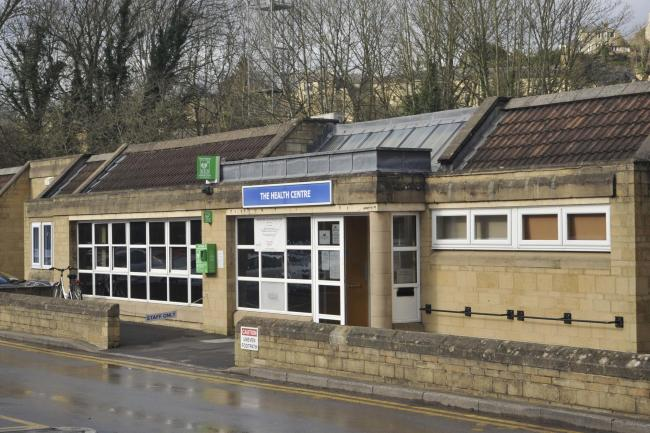 The Bradford on Avon Health Centre which spotted the suspected case