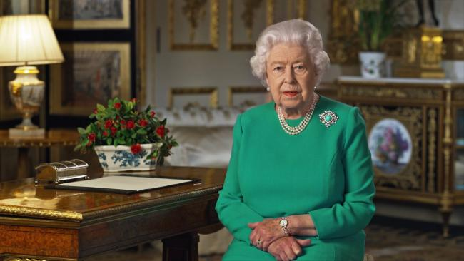 "Queen calls for people to  ""remain united and resolute"" in speech to nation"
