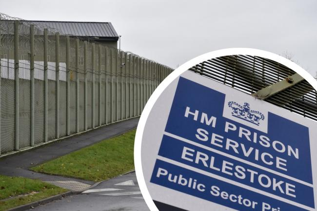 HMP Erlestoke Picture: GAZETTE AND HERALD