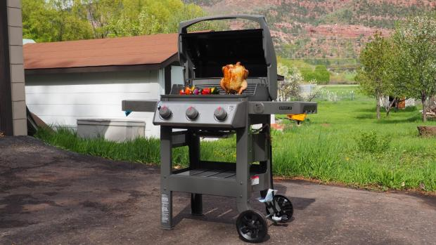 The Wiltshire Gazette and Herald: The Weber Spirit II E-310 remains the best gas BBQ we've tested. Credit: Reviewed
