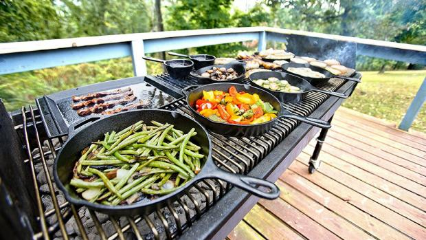 The Wiltshire Gazette and Herald: A good cast iron (or four) can help you cook up vegetable and more on the BBQ. Credit: Amazon / Lodge