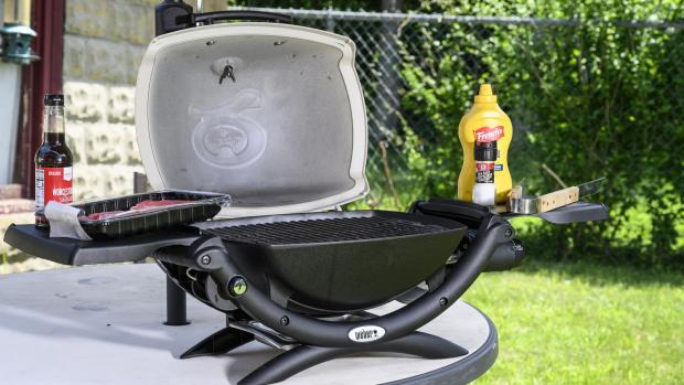 The Wiltshire Gazette and Herald: The Weber Q is a well-made, versatile portable gas BBQ. Credit: Reviewed / Betsey Goldwasser