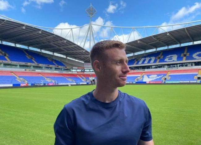 Bolton Wanderers' new signing Eoin Doyle