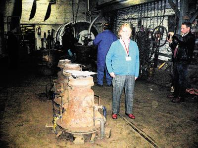 A bequest by the sister of Heather Peak-Garland, pictured, has made it possible for bells in Avebury to be restored
