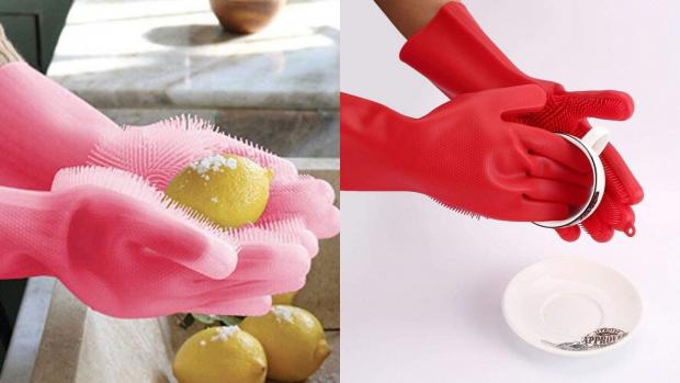 The Wiltshire Gazette and Herald: Gloves and sponges in one? Yes, please. Credit: Forliver