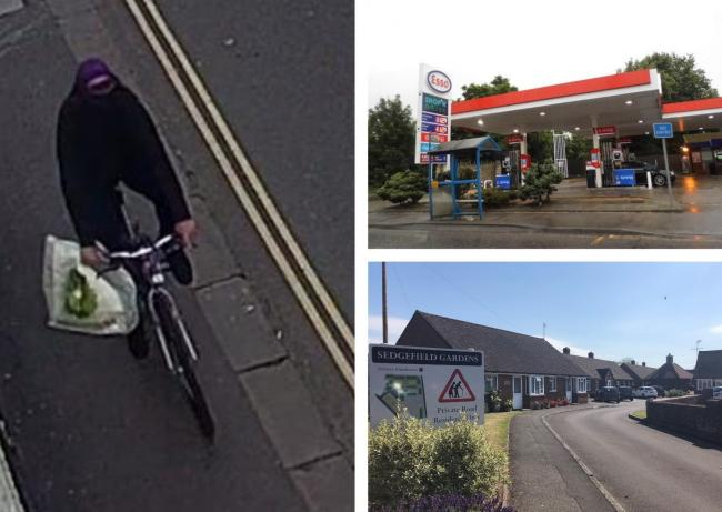 Three knife raids worry town