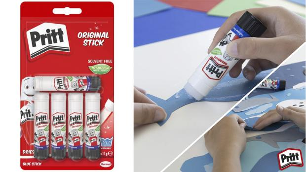 The Wiltshire Gazette and Herald: Don't worry. These glue sticks are washable. Credit: Pritt