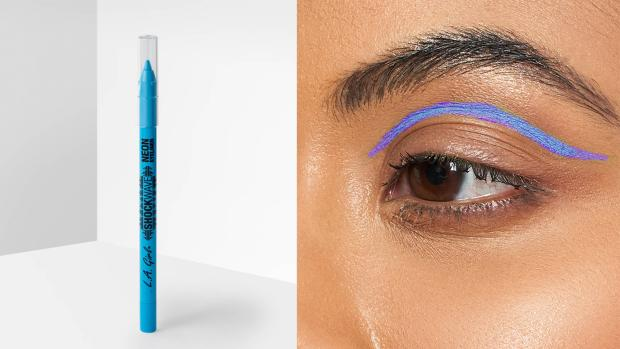 The Wiltshire Gazette and Herald: Add some flair to your eye look with the L.A. Girl Shockwave Neon Liner. Credit: L.A. Girl