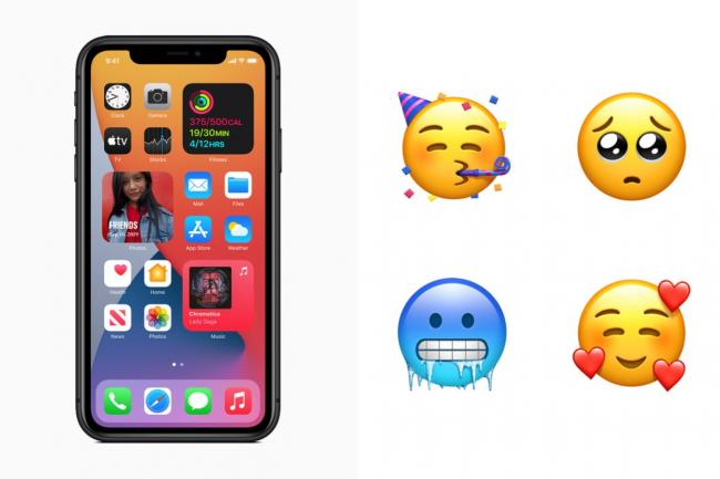 Apple adds 177 new emojis for iPhone users - including gender-neutral brides and grooms. Pictures: Apple