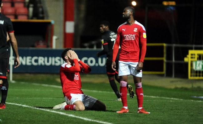 Adver Sport assess the Swindon Town players after their 1-0 defeat to Lincoln