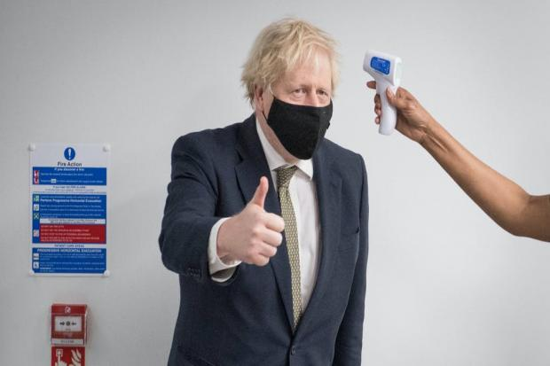 Boris Johnson by PA