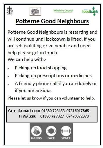 The Wiltshire Gazette and Herald: Potterne Good Neighbours