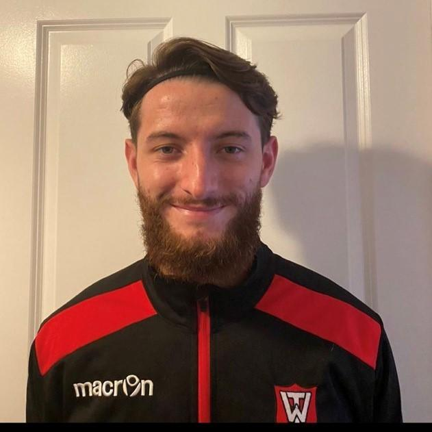 Warminster Town player Owen Bartley