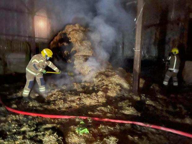 The Wiltshire Gazette and Herald: Credit: Royal Wootton Bassett Fire Station