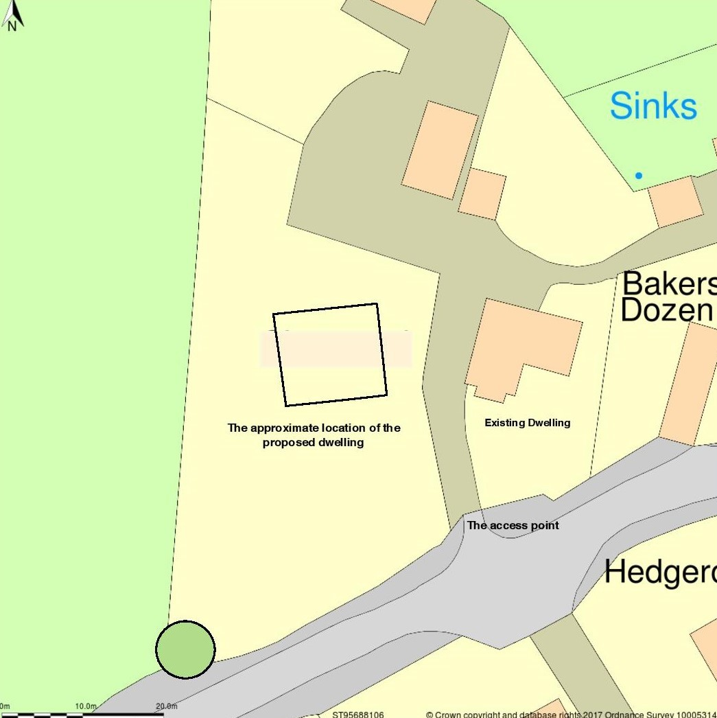Site plans for Sherwood, Lower Seagry
