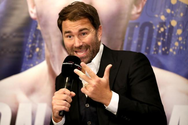 Eddie Hearn is the new chairman of Matchroom Sport