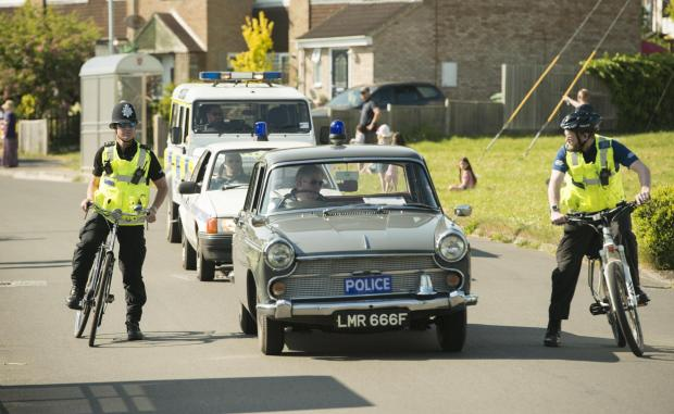 The Wiltshire Gazette and Herald: Police at Wootton Bassett Carnival