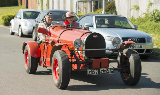 The Wiltshire Gazette and Herald: Vintage car at carnival