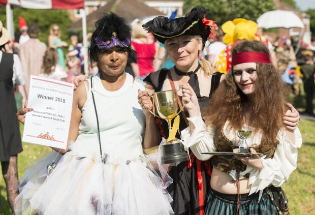 The Wiltshire Gazette and Herald: People dressed as pirates