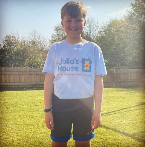 Young cricket player on marathon challenge for Julia's House